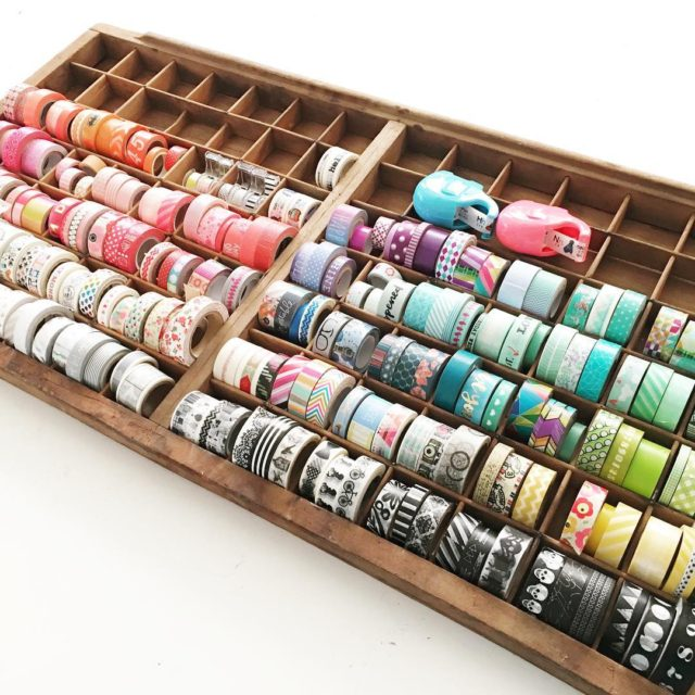 When youre running out of space in your washi storagehellip