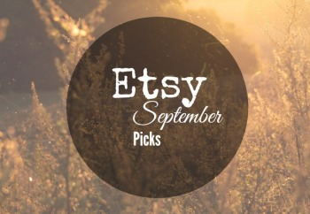 Etsy September Picks