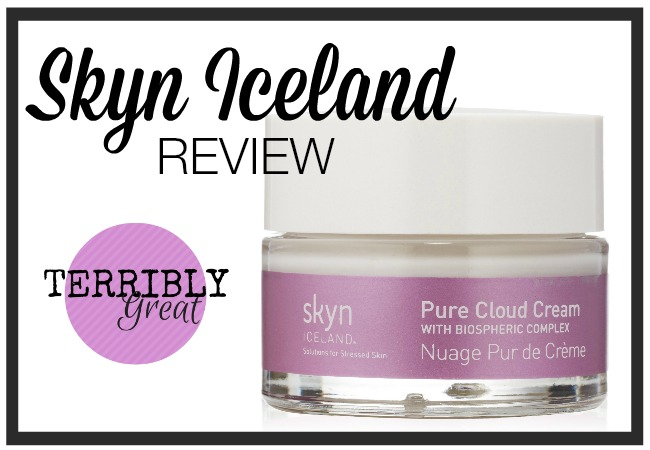 Skyn Iceland Cloud Cream Review