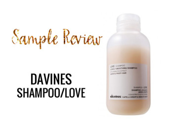 Davine Shampoo Sample Review