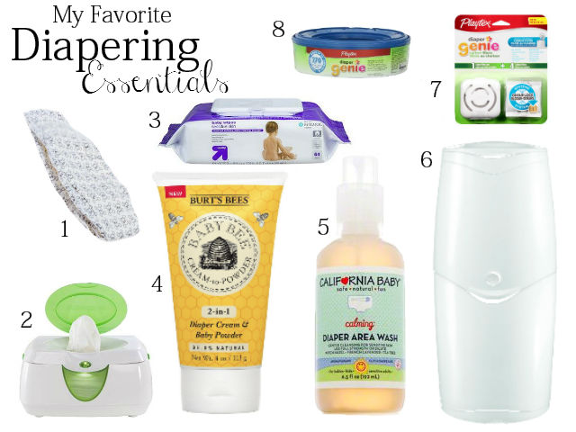 My Favorite Diapering Essentials