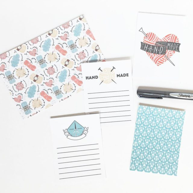 DIY journal cards using creativemarket weeklyfreebies go get yours